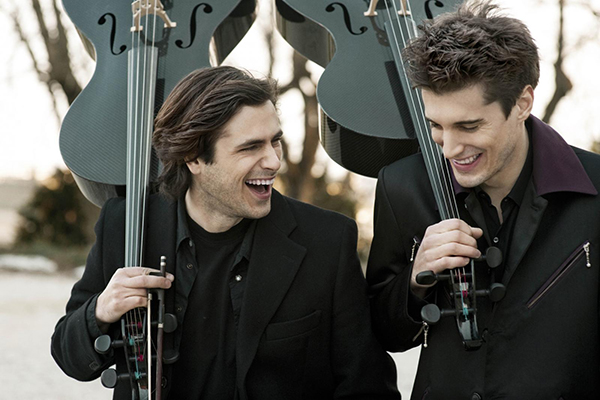 Image Courtesy 2Cellos