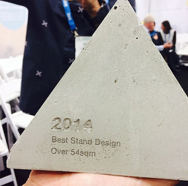 The award: Straight to the shelf at KE-ZU