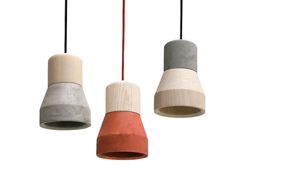 Cement Wood Lamp - The Perfect Balance ...