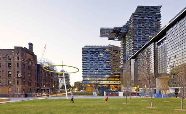Installed Central Park Sydney S Living Mall Ke Zu