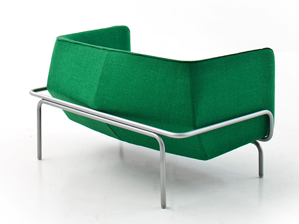 Chandigarh for Moroso, a collection of furniture conceptualized from the work of modernist Le Corbusier in the Indian city designed of the same name.