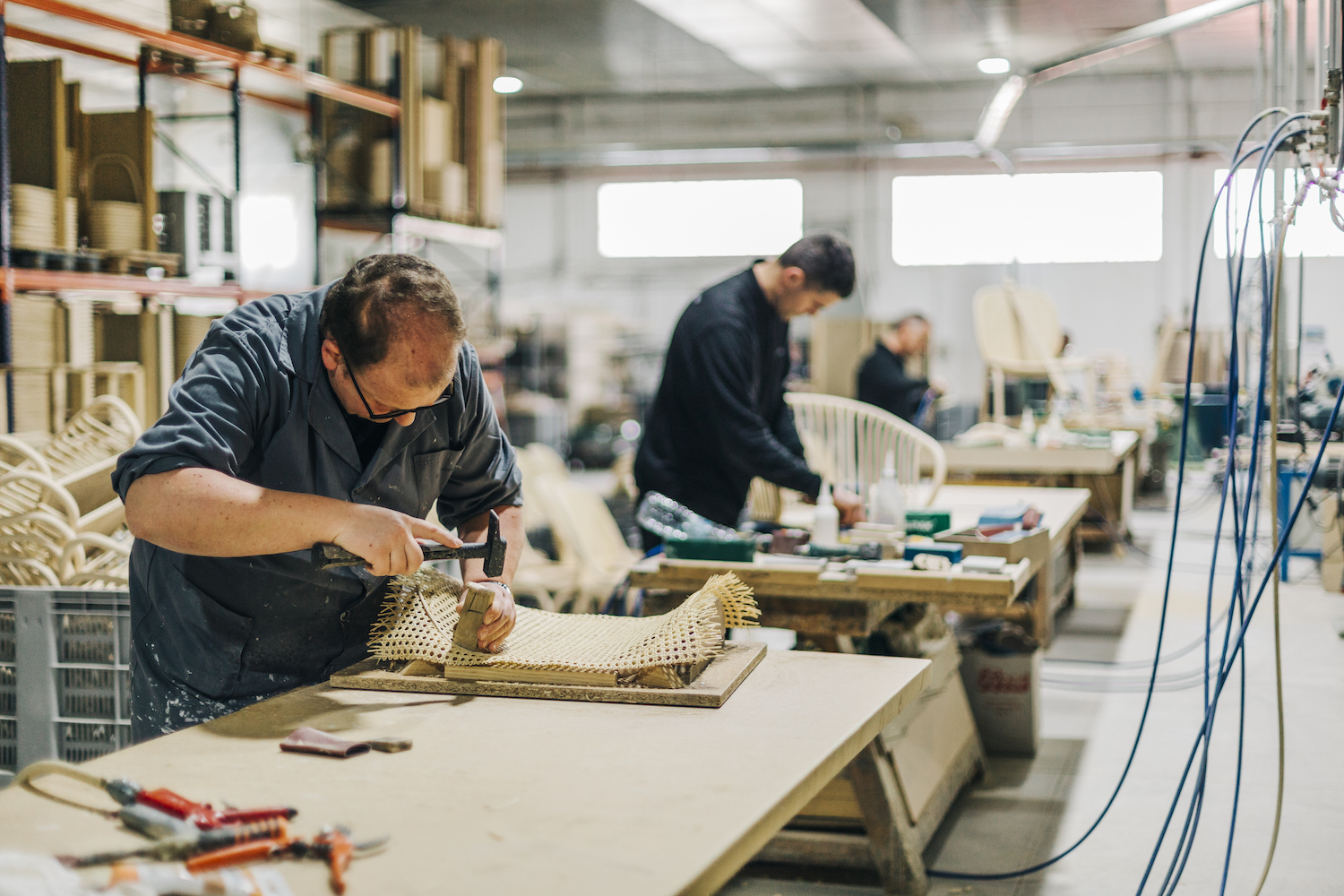 Meet the makers of our handmade furniture and lighting