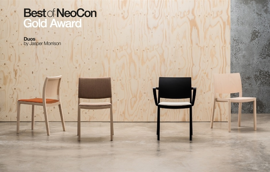 KEZU Andreu World_Contract award winner NeoCon_banner-duos