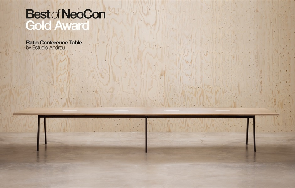 KEZU Andreu World_Contract award winner NeoCon_ratio-conference-table