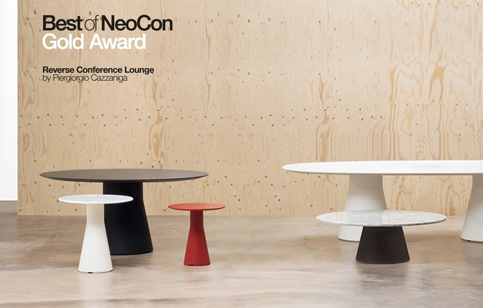 KEZU Andreu World_Contract award winner NeoCon_reverse-conference-lounge