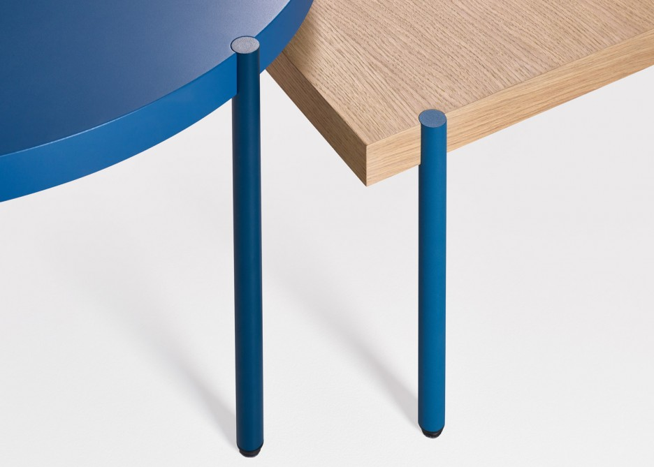 Italian architectural great inspires Artifort's new Palladio table collection