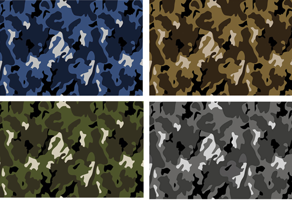 Tonal combinations of Camo by Ramon Esteve