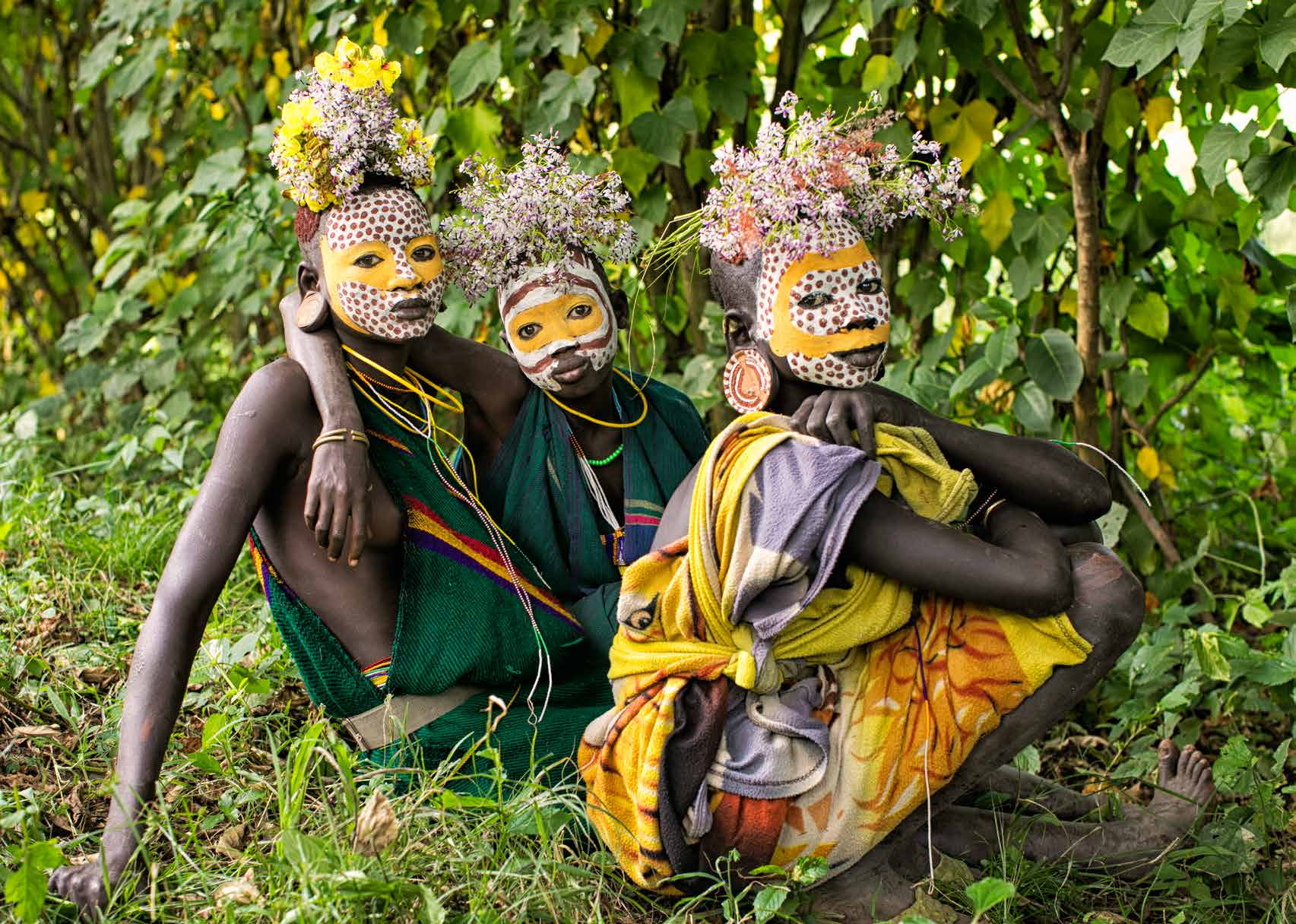Vanishing Surma Tribe: photography by Nadine Saacks