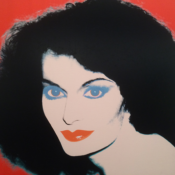 DVF as depicted by Andy Warhol