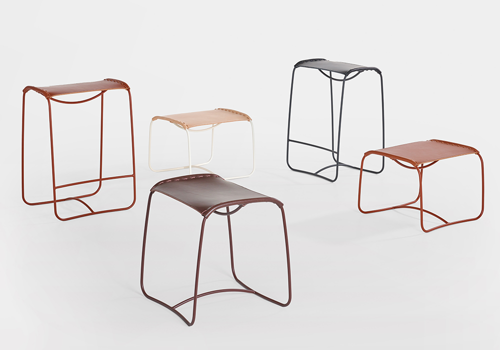 Pull up a perch: Studioilse adds a bar stool to the Perching collection