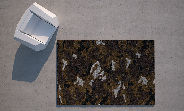 Ramon Esteve's Camo Rug Will Stand Out ...