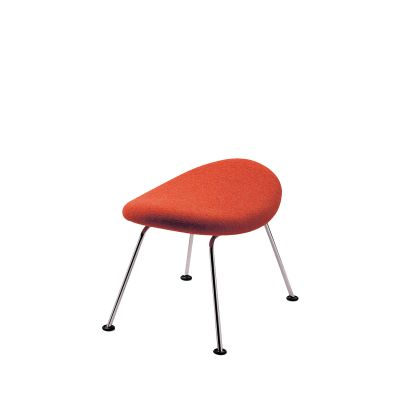 ORANGE SLICE FOOTSTOOL