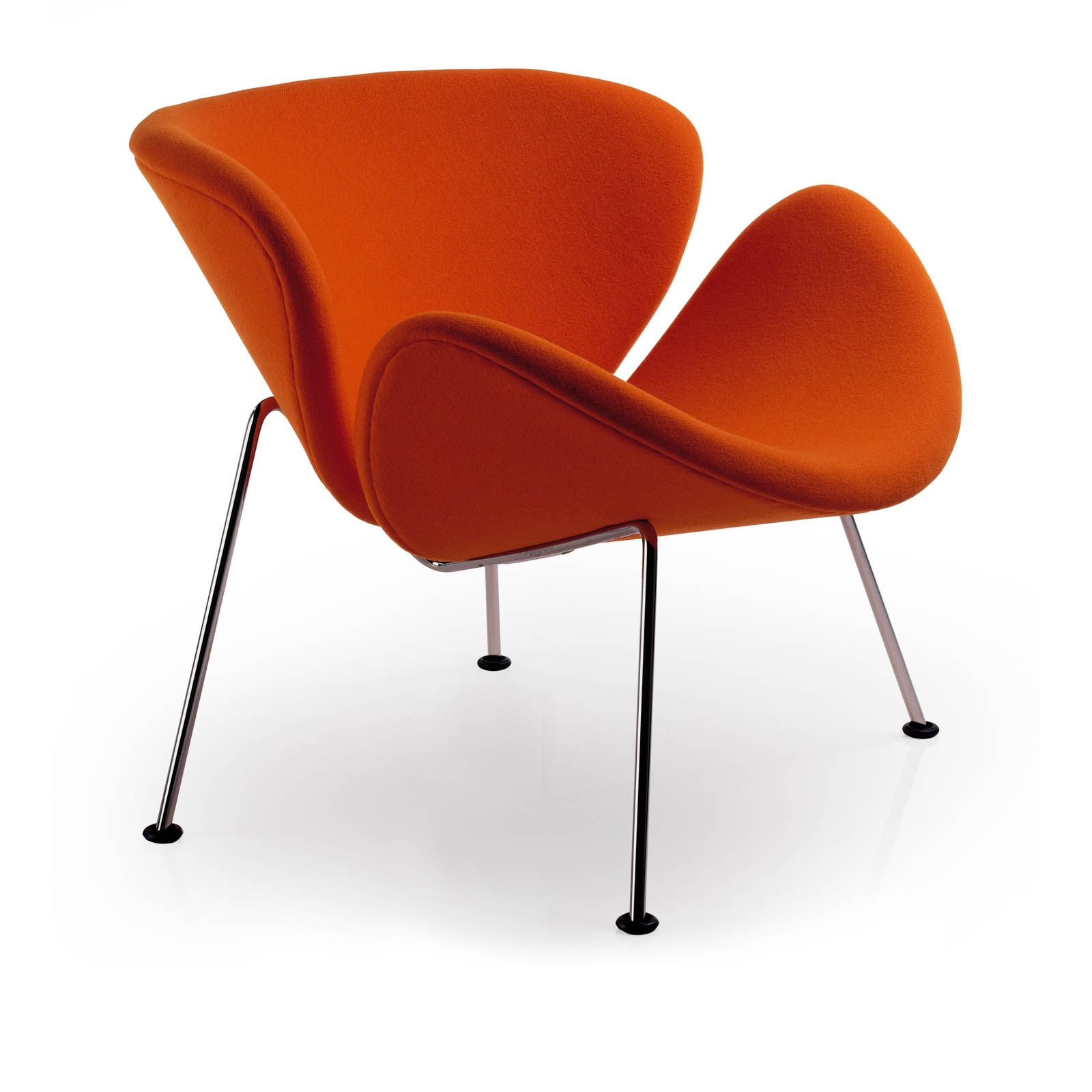 ORANGE SLICE LOUNGE CHAIR