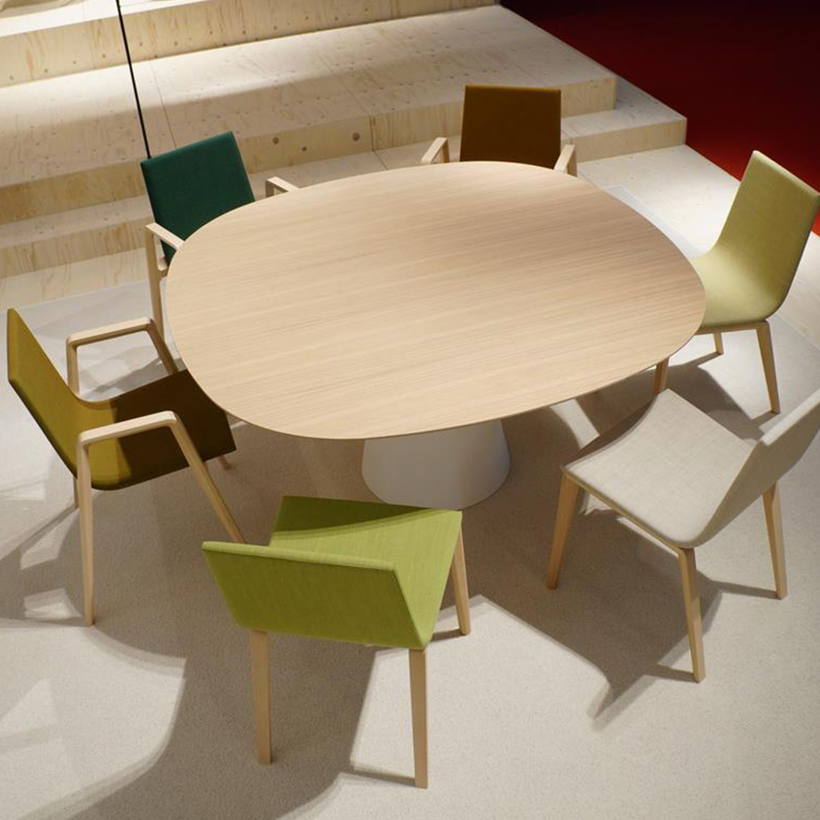 REVERSE CONFERENCE TABLE