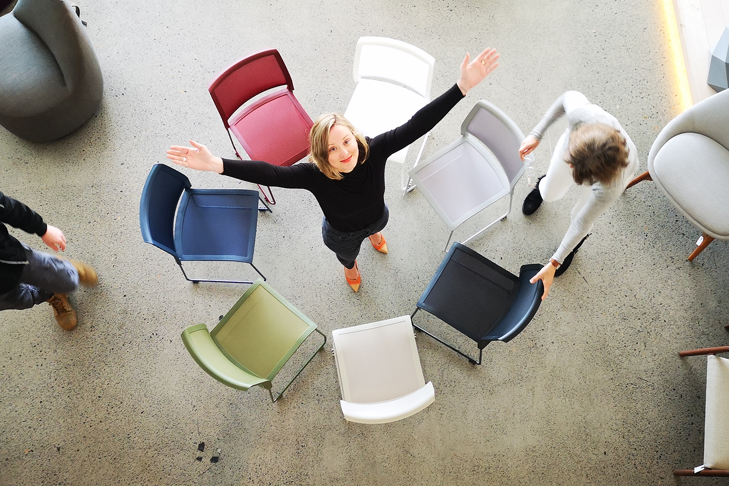 New and improved: The Tipo chair