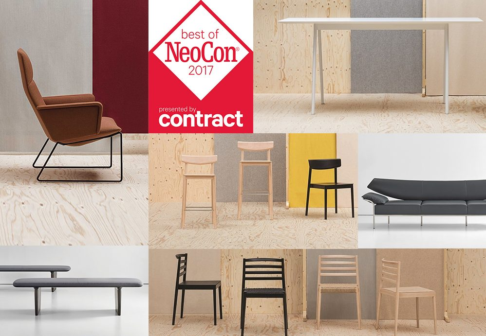 Bernhardt Design and Andreu World pick up gold and silver at The Best of NeoCon 2017 Awards (again!)