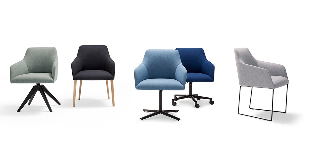 Andreu World Alya Dining and Conference Chairs