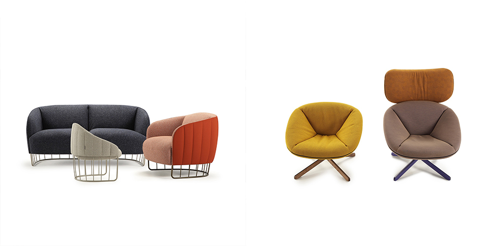 Sancal Tonella collection (left) and Tortuga (right)
